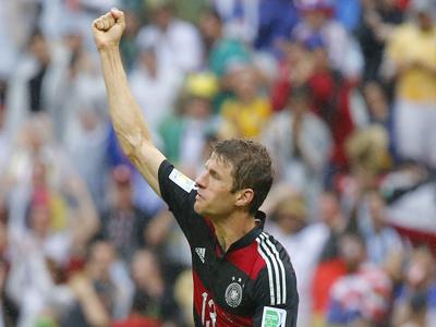 穆勒推射破门 德国1-0破僵局