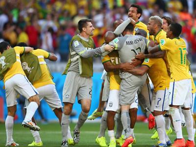 点球大战!巴西3-2智利涉险晋级8强