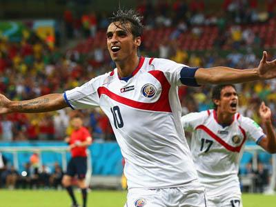 鲁伊斯禁区内推射破门 哥斯达黎加1-0领先希腊