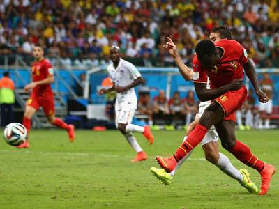 卢卡库破门锁定胜局  比利时2-0美国晋级在望