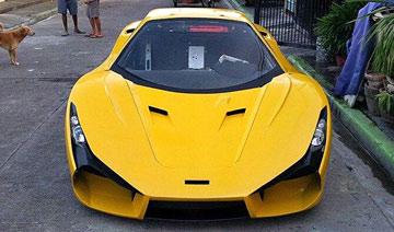 菲律宾首款超级跑车 街头惊现