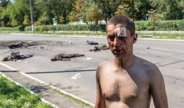 亲俄武装一夜摧毁7辆乌装甲车