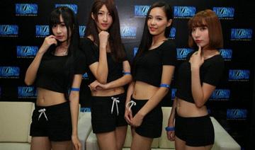 """清新脱俗!Chinajoy暴雪展台气质Showgirl"""