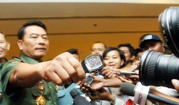 政要的奢侈名表 印尼司令:是中国造的假货