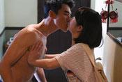 38岁林心如与男星拍床戏 吻到缺氧闹尴尬(图)