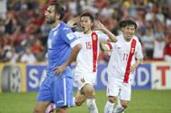 小组赛第2轮 中国2-1乌兹别克斯坦