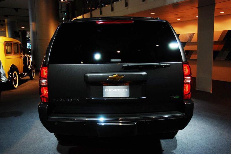 美国第一夫人座驾曝光 雪佛兰SUV售5万美金高清图片