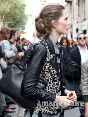 2012欧美街拍 捕捉时尚街头潮人潮发图片