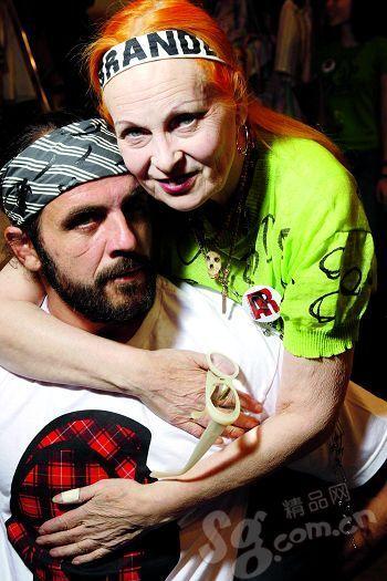 Vivienne Westwood与丈夫Andreas Kronthaler