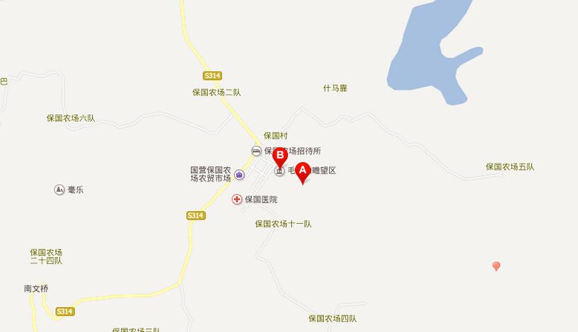 毛公山- 门票价格 不需门票 地图 交通提示: 公交:乘海口市至乐东县