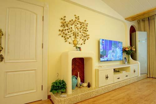 欧式客厅电视柜效果图