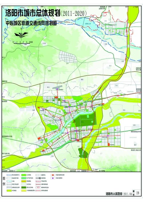 洛阳偃师市区地图