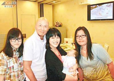 刘家辉/刘家辉第二任泰国妻子与儿子冼峻龙