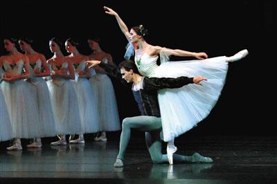 荷兰国家芭蕾舞团带来了古典芭蕾舞作《吉赛尔》