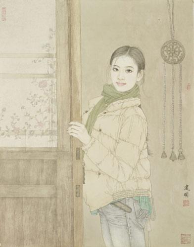 八位中国工笔画名家齐聚美国纽约