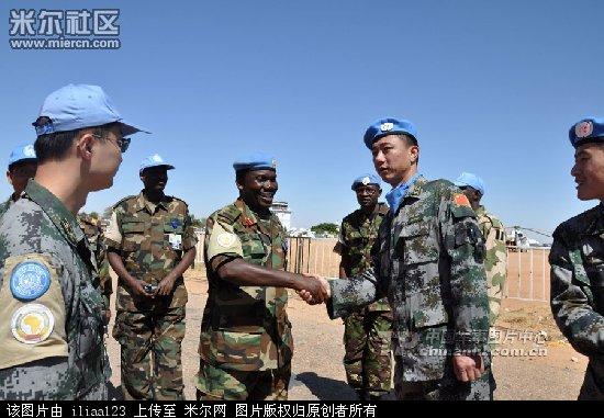 中国驻苏丹维和部队-中国海警船受损罕见照片曝光 越南人更悲惨图片