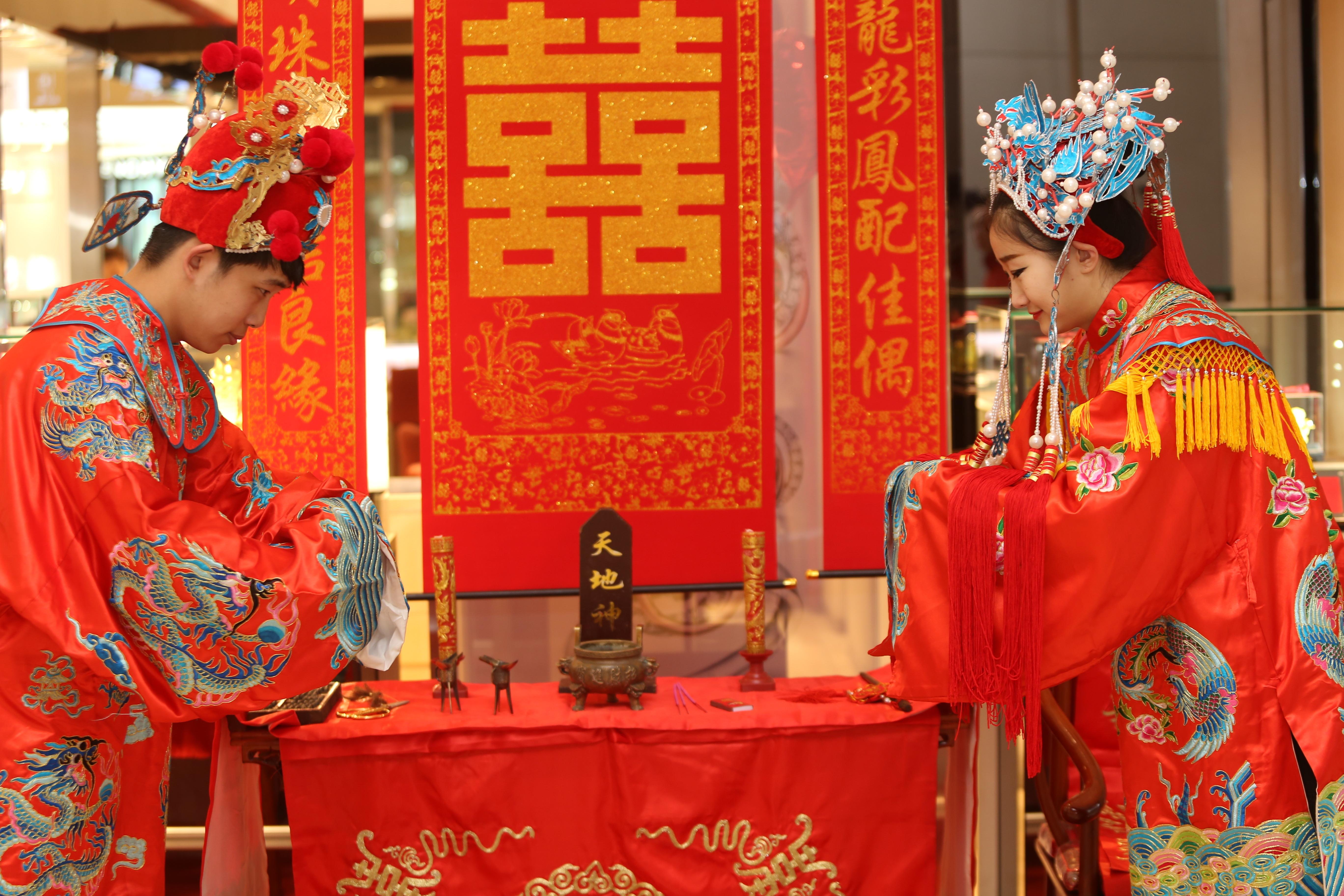 """北国商城中式婚礼现场秀 再加""""复活彩蛋""""精彩绝伦图片"""