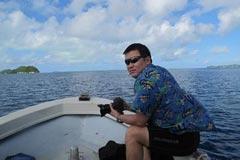杜锦恩:潜水让我学会敬畏自然