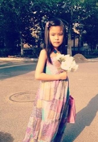 程琳/程琳7岁女儿照片