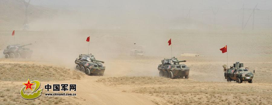 和平使命2012实兵推演:1个多小时完成4个战术行动