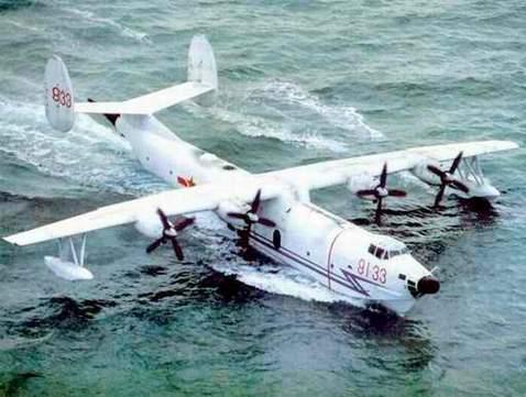 资料图:中国的固定翼反潜飞机只有少量的水轰-5型飞机.
