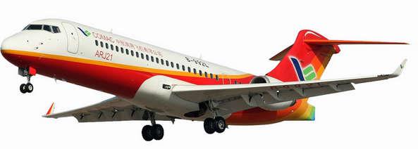 新型涡扇支线飞机ARJ21是中国首架拥有自主知识产权的涡扇支线飞机图片:中国商用飞机有限责任公司 看点2 国产客机展示自主研发成果 飞机制造能力是体现一个国家综合科技能力的重要标志,我国国产客机的自主研发情况一直备受社会各界关注。本届航展,ARJ21、新舟600等两款最具代表性的国产客机将现场亮相,让航展观众近距离感受国产科技研制的最新成果。 作为中国首架拥有自主知识产权的涡扇支线飞机,由中国商用飞机公司研制的ARJ21于2008年首飞成功,并曾在上届航展上亮相。本届航展,ARJ21将再次亮相航展现场,并