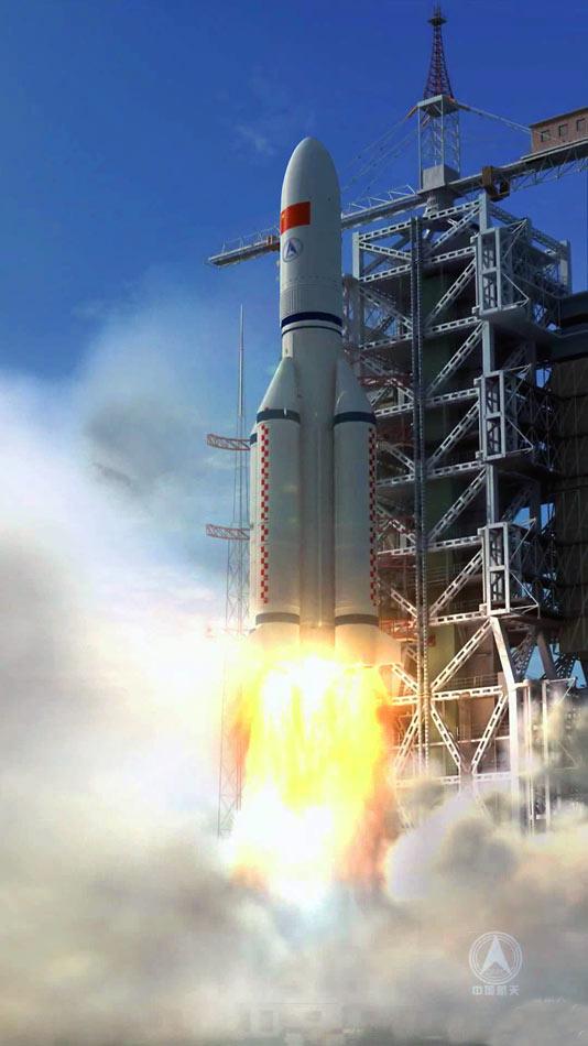 图集】海南文昌航天发射场紧张施工 预计2014年将 ...