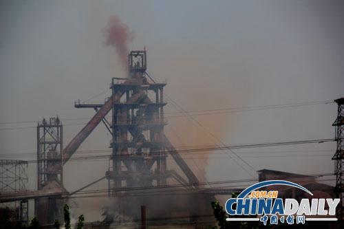 安阳:华诚特钢烟尘污染扬名立万(图)