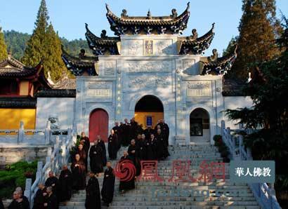 探访五祖寺 走一段六祖大师开悟的路