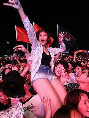 上海迷笛完美落幕 现场精彩图集回顾[高清大图]