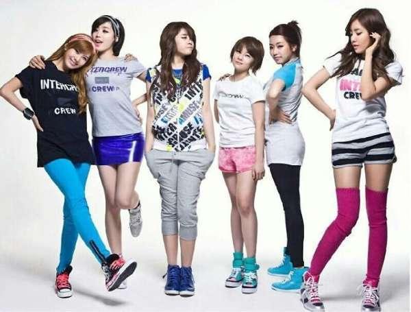 韩组合T-ara翻唱《小苹果》 欲开拓中国市场(图)