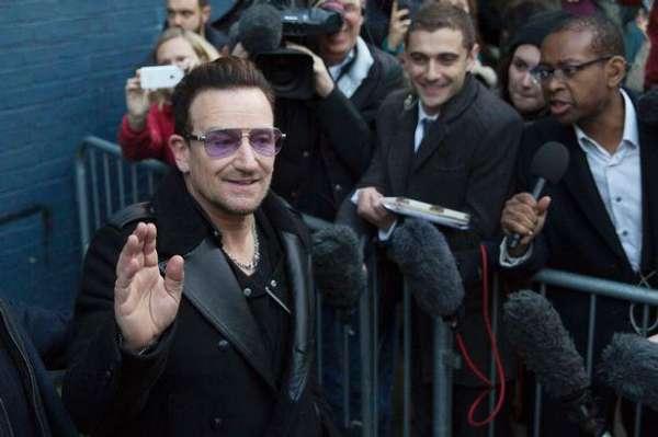 U2乐队主唱波诺遭车祸毁容 手术长达5小时(图)