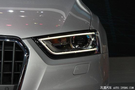 现在奥迪旗下部分高端车型已经提供全led大灯