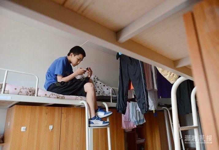 东北师范大学本部校区新三舍.陈晓研除了参加学校安排的活动外,图片