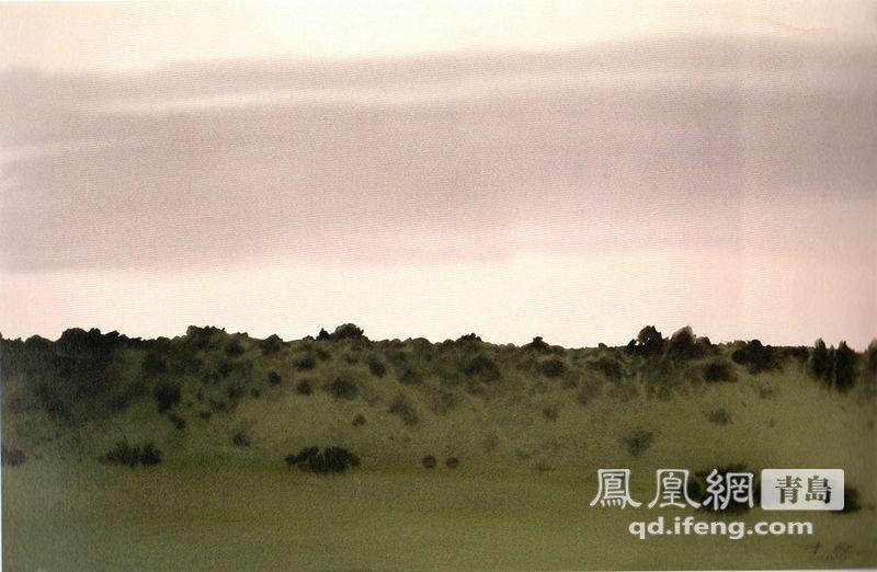 青岛籍中国水彩画大师陈坚部分画赏:风景篇(组图)