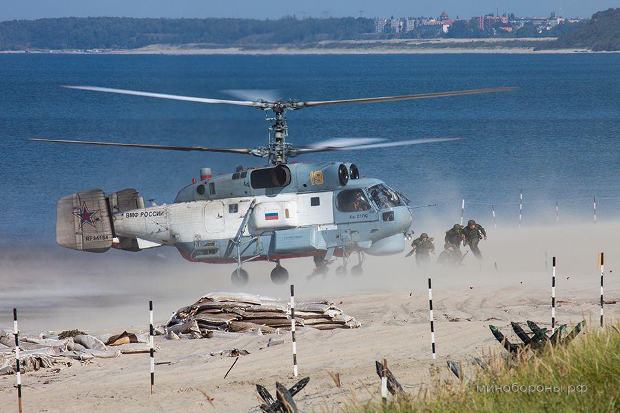 """俄军""""野牛""""气垫船在波罗的海练登陆 (组图) -  东方.旭 - 东方.旭的博客"""