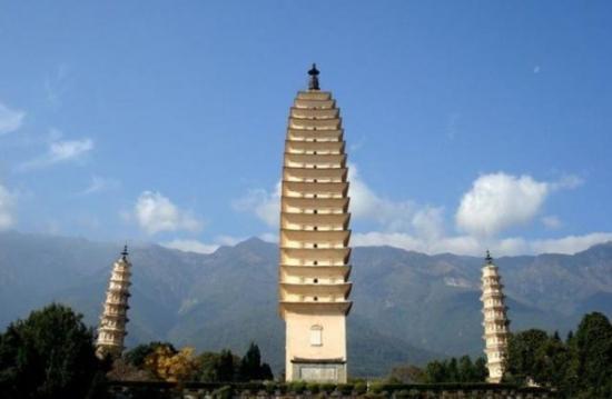 中国的十大名塔
