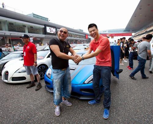 SCC上海超跑俱乐部会长Andy与SCC北京超跑俱乐部会长宽宽-SSCC图片