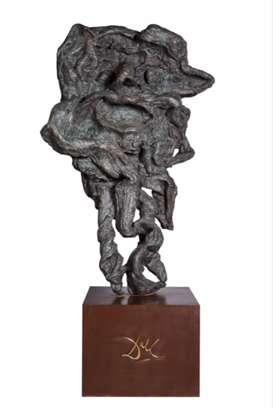 达利雕塑作品首次入驻中国美术馆