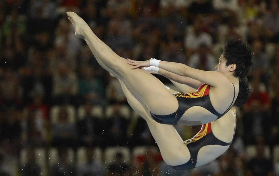 2012年7月31日,伦敦奥运会,女子双人10米台,陈若琳/汪皓轻松夺冠,夺中国代表团第十金。