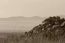 实拍林彪墓地:茫茫草原 一个石堆