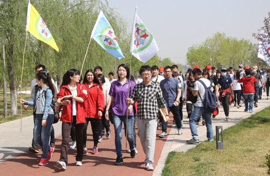团市委举办天津青少年图纸定向活动竞走标准图签公益煤矿图片