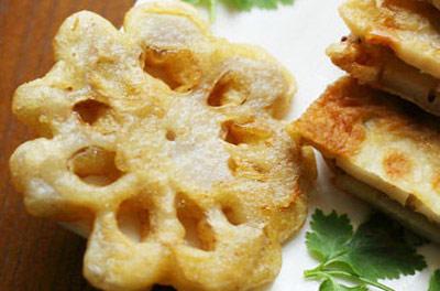 花式煎炸藕夹:脆爽美味 好吃停不下来