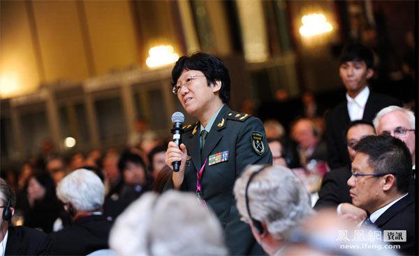 解放军女少将请美防长就美在亚太扩张军力做出解释