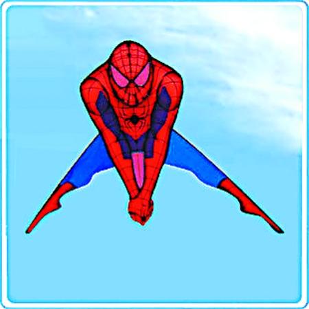 关于蜘蛛侠的儿童创意绘画作品