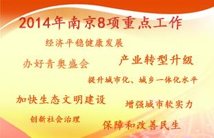 2014年南京8项重点工作