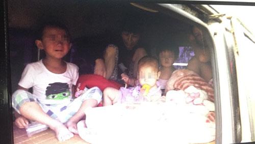 """微信传""""安徽黑帮""""在南昌贩卖儿童"""
