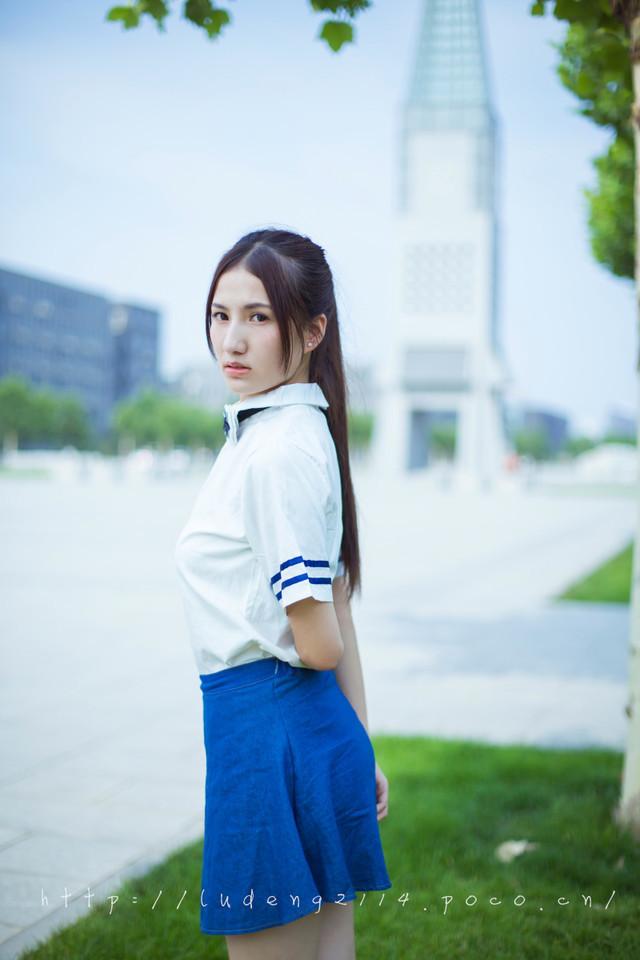河北师大女神喊话在等你 校花学
