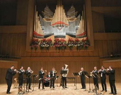 哈尔滨音乐厅 德国铜管音乐会
