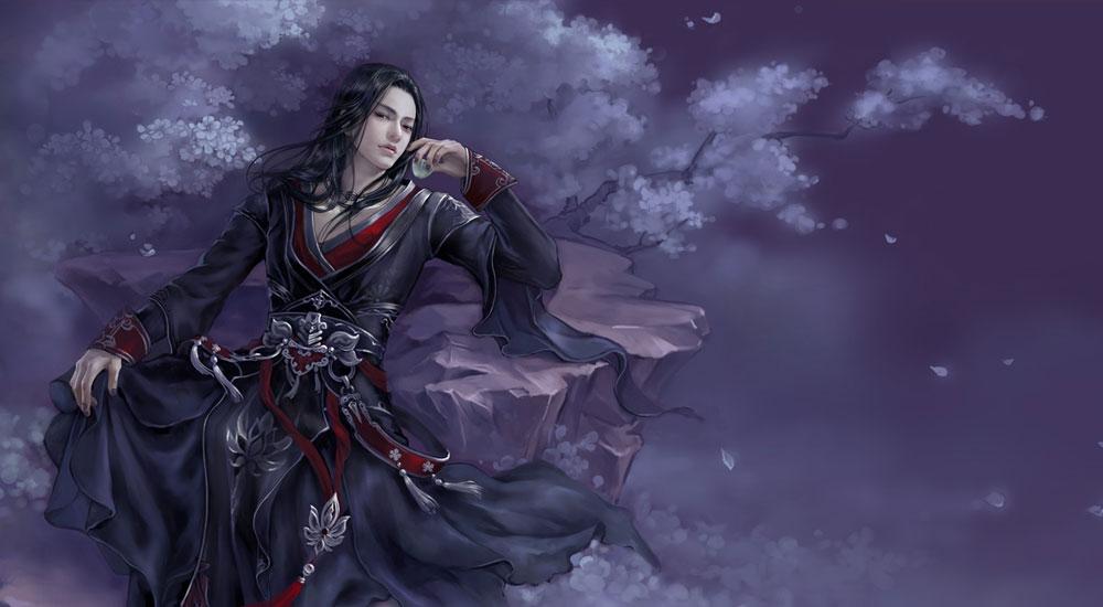 兰陵王画像图片